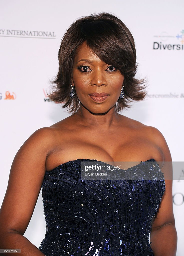 Actress Alfre Woodard attends the BLUE Scholarship Gala to benefit Spelman College at The Plaza Hotel on October 4 2010 in New York City