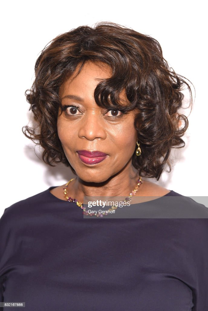 Actress Alfre Woodard attends the 'Crown Heights' New York premiere at The Metrograph on August 15, 2017 in New York City.
