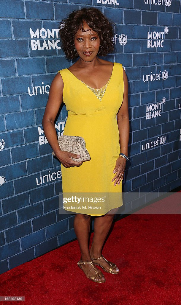 Actress Alfre Woodard attends the Montblanc And UNICEF Host Pre-Oscar Brunch Celebrating Their Limited Edition Collection at the Hotel Bel-Air on February 23, 2013 in Los Angeles, California.