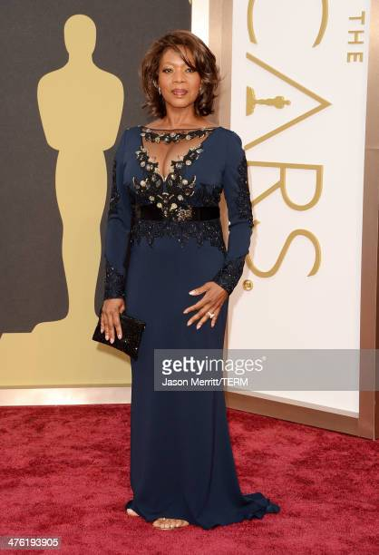Actress Alfre Woodard attends the Oscars held at Hollywood Highland Center on March 2 2014 in Hollywood California