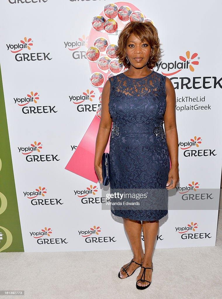 Actress <a gi-track='captionPersonalityLinkClicked' href=/galleries/search?phrase=Alfre+Woodard&family=editorial&specificpeople=220969 ng-click='$event.stopPropagation()'>Alfre Woodard</a> attends Variety & Women In Film Pre-Emmy Event presented by Yoplait Greek at Scarpetta on September 20, 2013 in Beverly Hills, California.