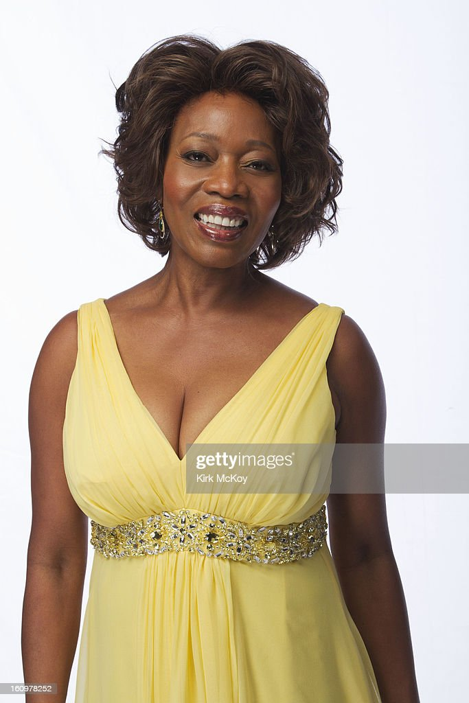 Actress Alfre Woodard is photographed at the NAACP Image Awards for Los Angeles Times on February 1, 2013 in Los Angeles, California. PUBLISHED IMAGE.