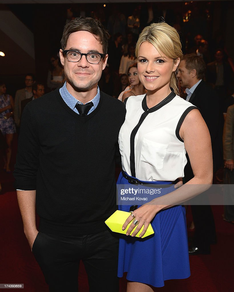 Actress <a gi-track='captionPersonalityLinkClicked' href=/galleries/search?phrase=Ali+Fedotowsky&family=editorial&specificpeople=6799459 ng-click='$event.stopPropagation()'>Ali Fedotowsky</a> (R) and Kevin Manno attend the afterparty for AFI And Sony Picture Classics' Hosts The Premiere Of 'Blue Jasmine' on July 24, 2013 in Beverly Hills, California.