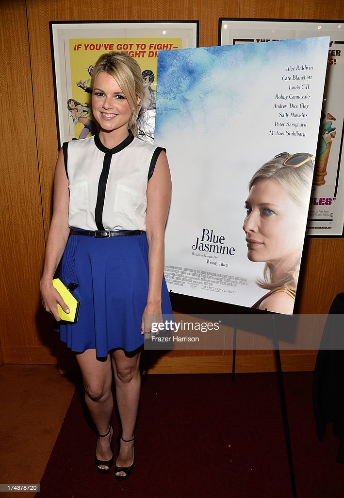 Actress Ali Fedotowsky attends the after party for the premiere of 'Blue Jasmine' hosted by AFI & Sony Picture Classics at AMPAS Samuel Goldwyn Theater on July 24, 2013 in Beverly Hills, California.