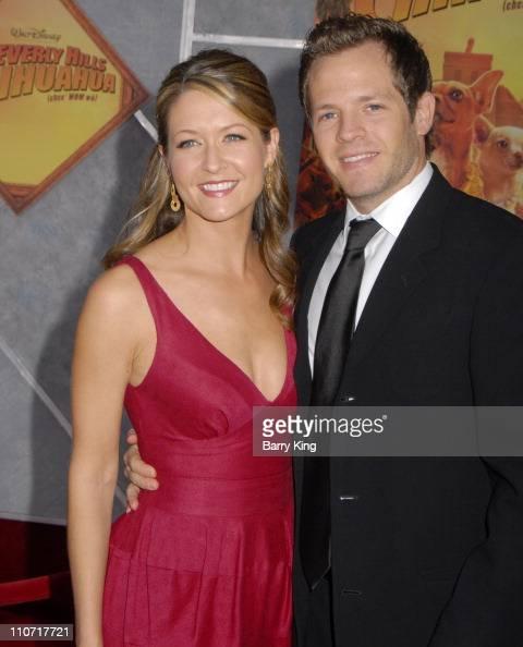 Actress Ali Hillis and husband...
