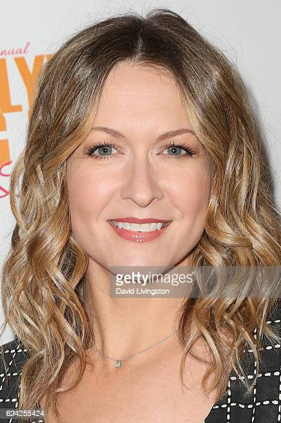 Actress Ali Hillis arrives at the 14th Annual Lupus LA Hollywood Bag Ladies Luncheon at The Beverly Hilton Hotel on November 18 2016 in Beverly Hills...