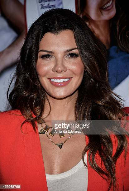 Actress Ali Landry arrives at the Los Angeles premiere of 'Hit By Lightning' at the ArcLight Hollywood on October 27 2014 in Hollywood California