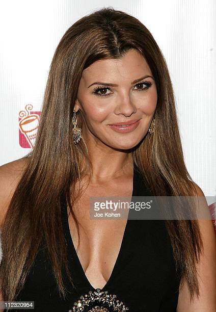 Actress Ali Landry attends 'A Salute To Our troops' ceremony hosted by Microsoft Corporation and the United Service Organizations at The Rainbow Room...