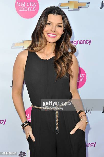 Actress Ali Landry attends Big City Moms 'The Biggest Baby Shower Ever' event at Skirball Cultural Center on March 18 2014 in Los Angeles California