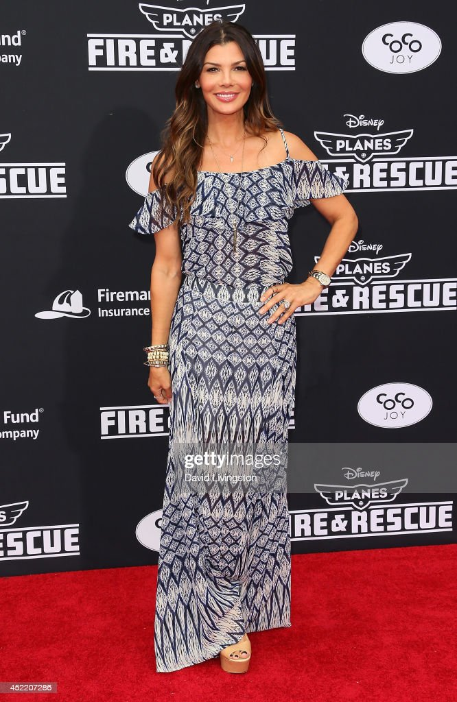 Actress Ali Landry attends the premiere of Disney's 'Planes: Fire & Rescue' at the El Capitan Theatre on July 15, 2014 in Hollywood, California.