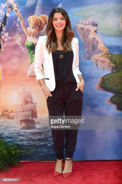 Actress Ali Landry attends the premiere of DisneyToon Studios' 'The Pirate Fairy' at Walt Disney Studio Lot on March 22 2014 in Burbank California