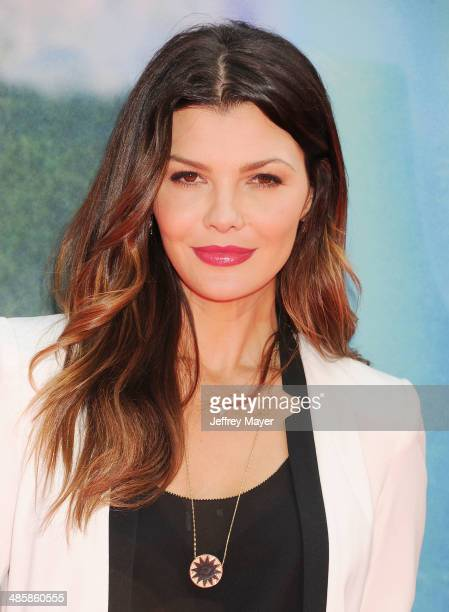 Actress Ali Landry attends the premiere of DisneyToon Studios' 'The Pirate Fairy' at Walt Disney Studios on March 22 2014 in Burbank California