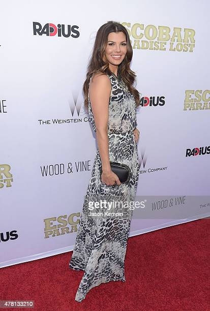 Actress Ali Landry attends the premiere of 'Escobar Paradise Lost' at ArcLight Hollywood on June 22 2015 in Hollywood California