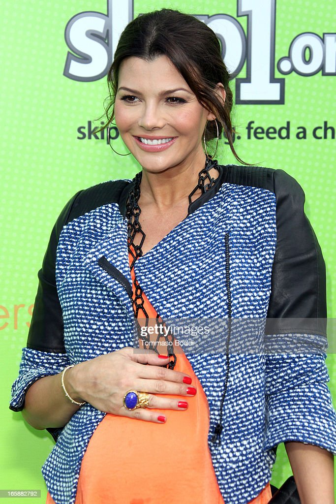 Actress Ali Landry attends the Skip1.org's 'Skip And Donate' gala event held at The Lot on April 6, 2013 in West Hollywood, California.