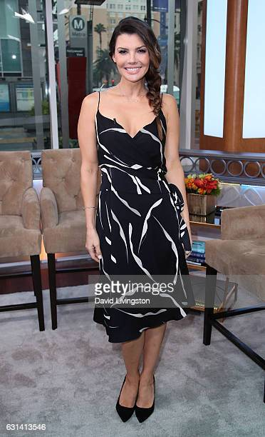 Actress Ali Landry poses at Hollywood Today Live at W Hollywood on January 10 2017 in Hollywood California