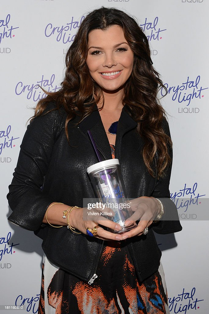 Actress <a gi-track='captionPersonalityLinkClicked' href=/galleries/search?phrase=Ali+Landry&family=editorial&specificpeople=543155 ng-click='$event.stopPropagation()'>Ali Landry</a> stops by Crystal Light Liquid as they toast the Emmys at Kari Feinstein's Pre-Emmy Style Lounge at the Andaz Hotel on September 19, 2013 in Los Angeles, California.