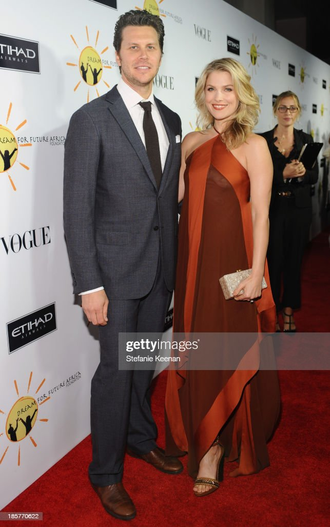 Actress Ali Larter and comedian Hayes MacArthur attend Dream for Future Africa Foundation Inaugural Gala honoring Franca Sozzani of VOGUE Italia at...
