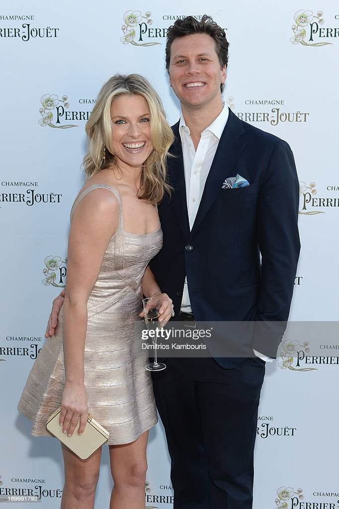 Actress Ali Larter and comedian Hayes MacArthur attend the PerrierJouet celebration of the Enchanting Tree on June 5 2013 in New York City