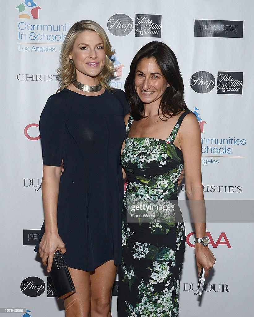 Actress <a gi-track='captionPersonalityLinkClicked' href=/galleries/search?phrase=Ali+Larter&family=editorial&specificpeople=208082 ng-click='$event.stopPropagation()'>Ali Larter</a> and Deborah Marcus attend the Communities In Schools 'School Life' Gala at a Private Residence on May 2, 2013 in Beverly Hills, California.