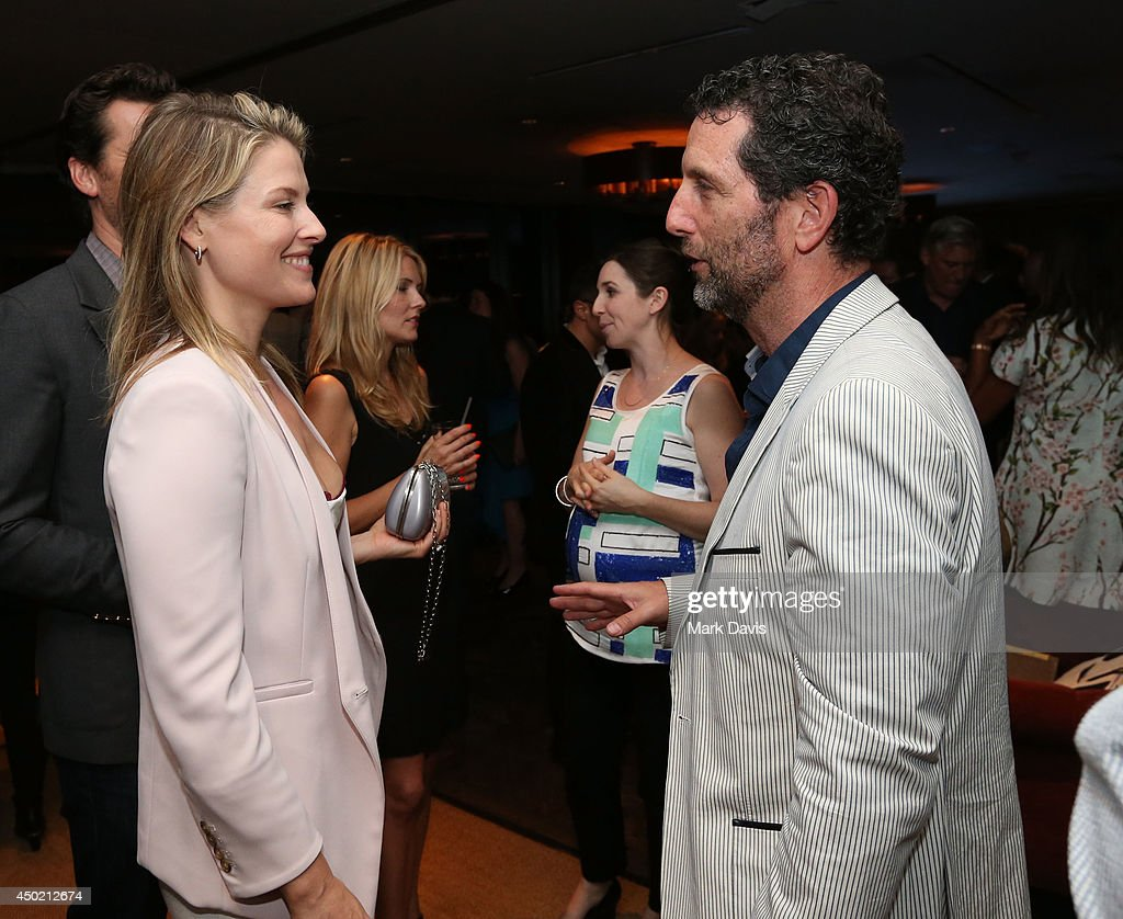 Actress <a gi-track='captionPersonalityLinkClicked' href=/galleries/search?phrase=Ali+Larter&family=editorial&specificpeople=208082 ng-click='$event.stopPropagation()'>Ali Larter</a> (L) and Shaun Gold attend the 'Producers Guild Digital VIP Event' held at Soho House on June 6, 2014 in West Hollywood, California.