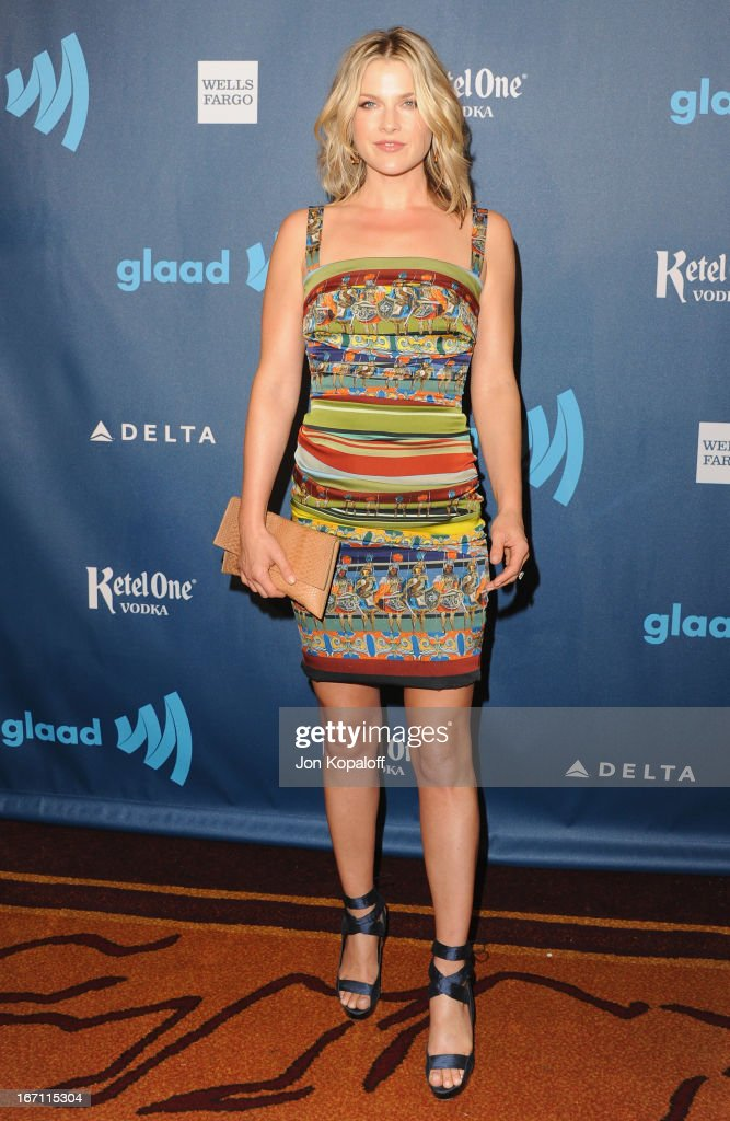 Actress Ali Larter arrives at the 24th Annual GLAAD Media Awards at JW Marriott Los Angeles at L.A. LIVE on April 20, 2013 in Los Angeles, California.