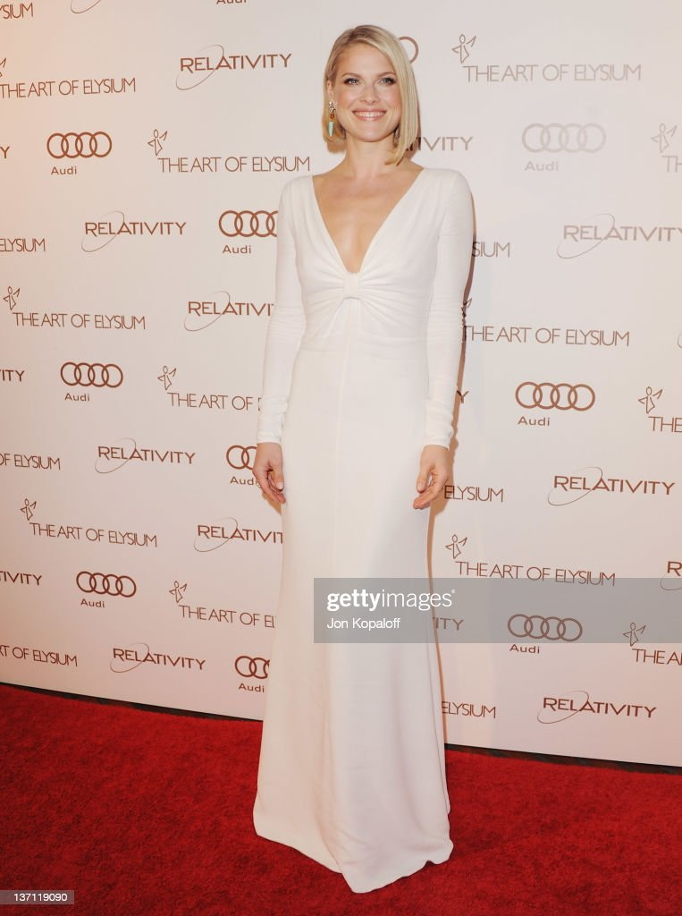 Actress Ali Larter arrives at the Art Of Elysium's 5th Annual Heaven Gala at Union Station on January 14, 2012 in Los Angeles, California.