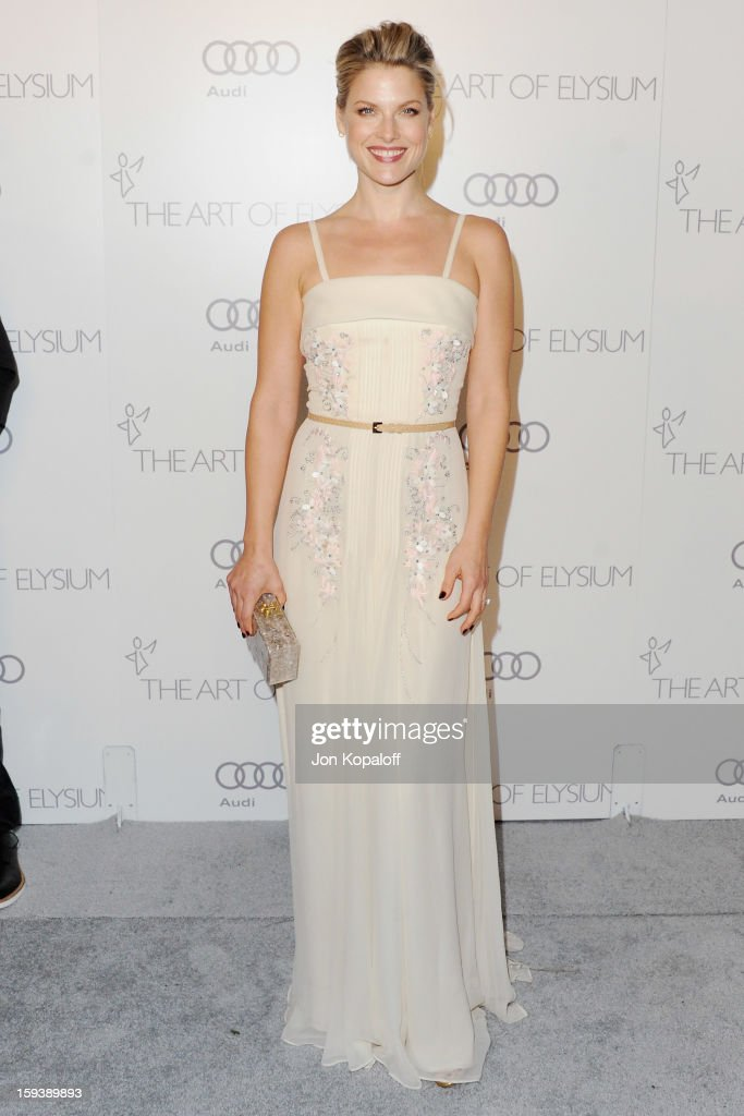 Actress Ali Larter arrives at the Art Of Elysium's 6th Annual Heaven Gala on January 12, 2013 in Los Angeles, California.