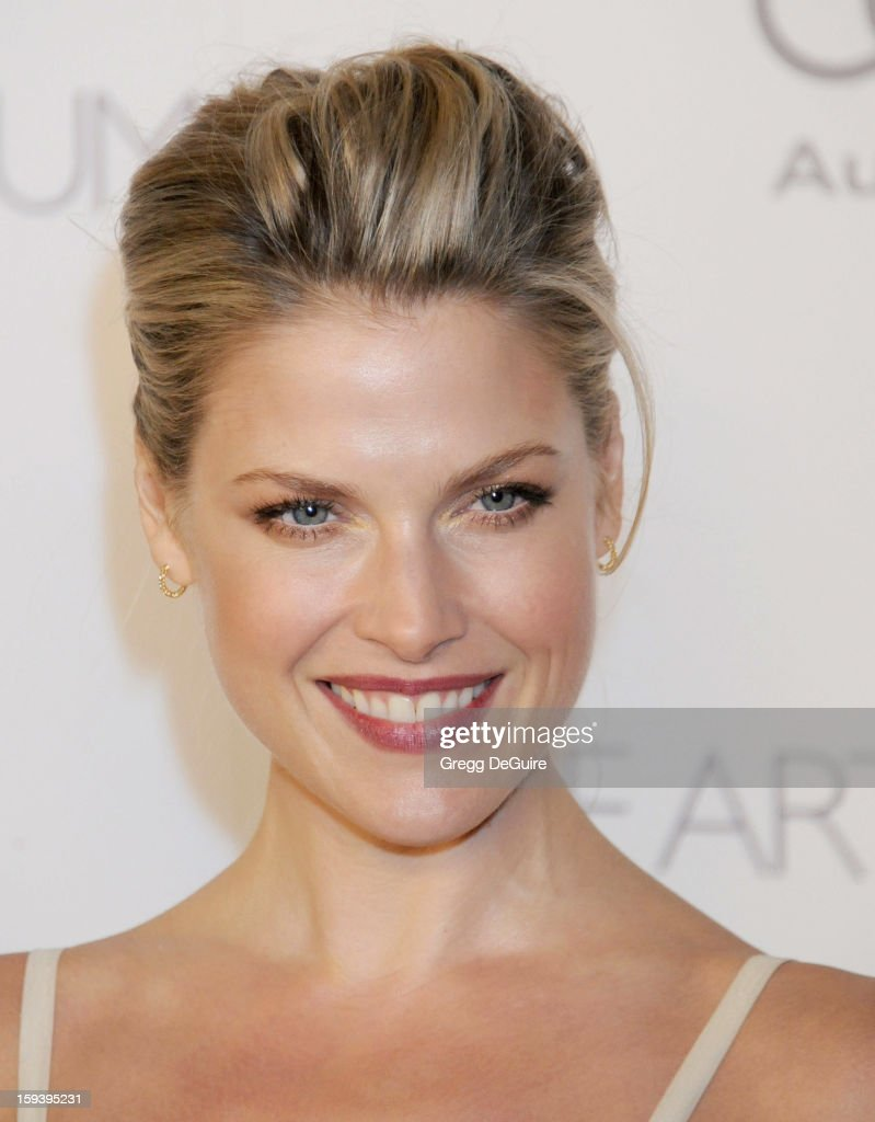 Actress Ali Larter arrives at The Art of Elysium's Heaven Gala at 2nd Street Tunnel on January 12, 2013 in Los Angeles, California.