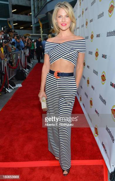 Actress Ali Larter arrives at the premiere of RADiUSTWC's 'Bachelorette' at ArcLight Cinemas on August 23 2012 in Hollywood California