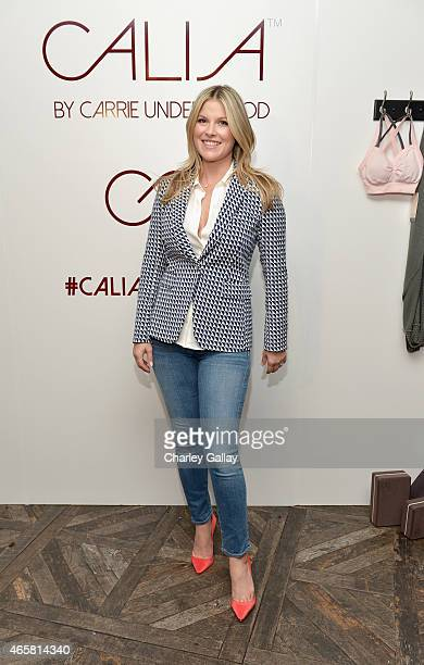 Actress Ali Larter attends CALIA By Carrie Underwood Launch Event on March 10 2015 in West Hollywood California