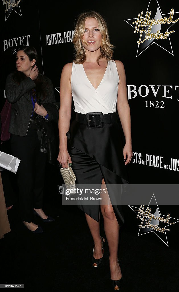 Actress Ali Larter attends Hollywood Domino And Bovet 1822 Gala Benefiting Artists For Peace And Justice at the Sunset Tower Hotel on February 21, 2013 in West Hollywood, California.