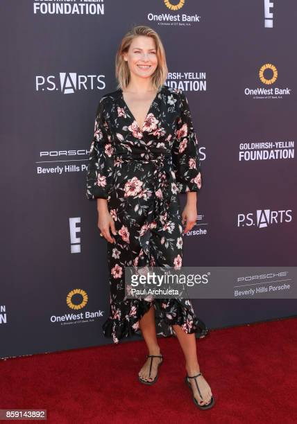 Actress Ali Larter attends PS ARTS' Express Yourself 2017 event at Barker Hangar on October 8 2017 in Santa Monica California
