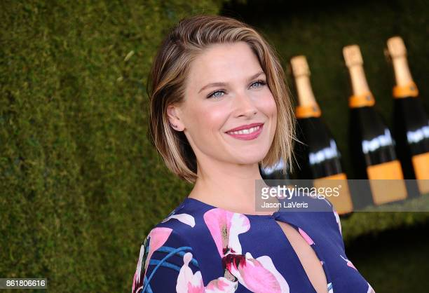 Actress Ali Larter attends the 8th annual Veuve Clicquot Polo Classic at Will Rogers State Historic Park on October 14 2017 in Pacific Palisades...