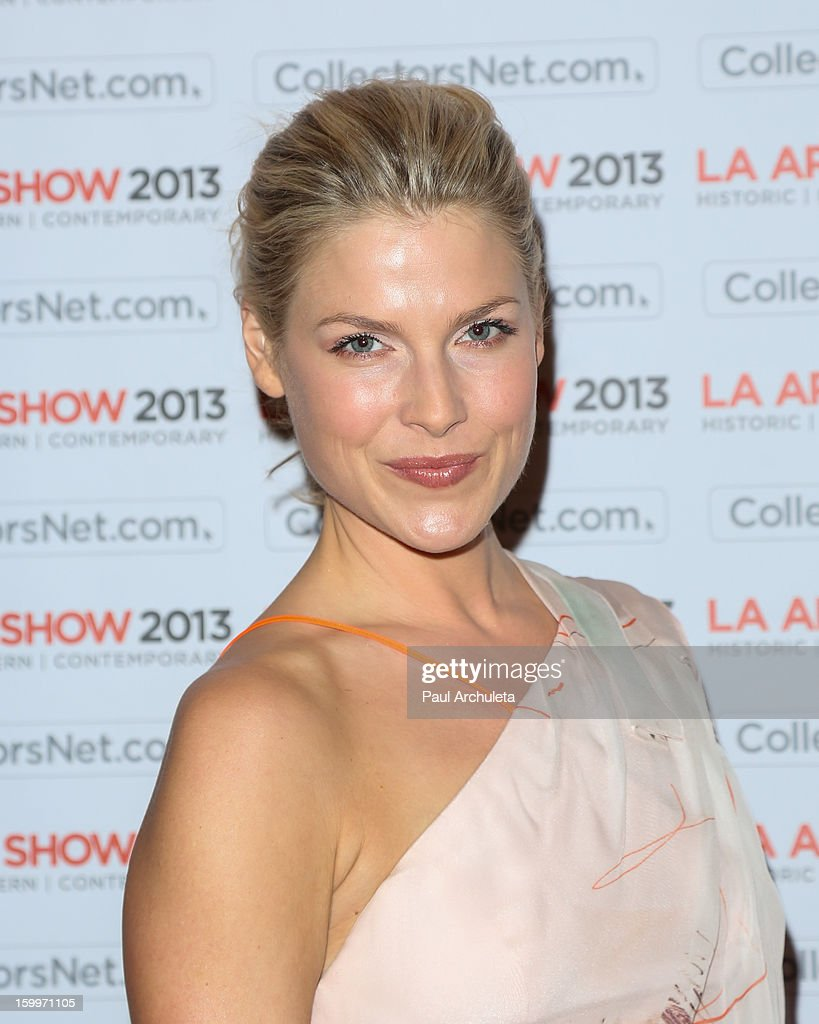 Actress Ali Larter attends the LA Art Show opening night party at Los Angeles Convention Center on January 23, 2013 in Los Angeles, California.