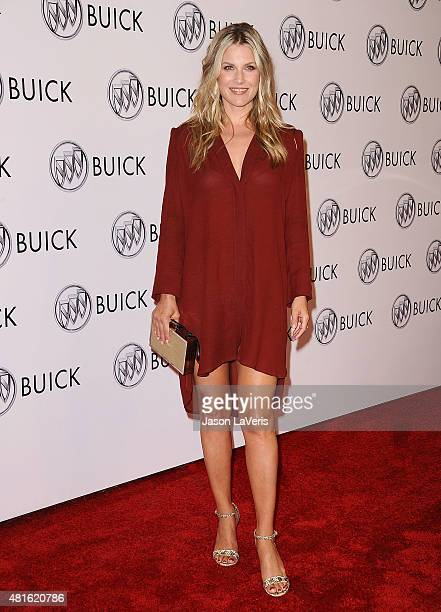 Actress Ali Larter attends the Buick '24 Hours Of Happiness' test drive launch event at Ace Museum on July 22 2015 in Los Angeles California