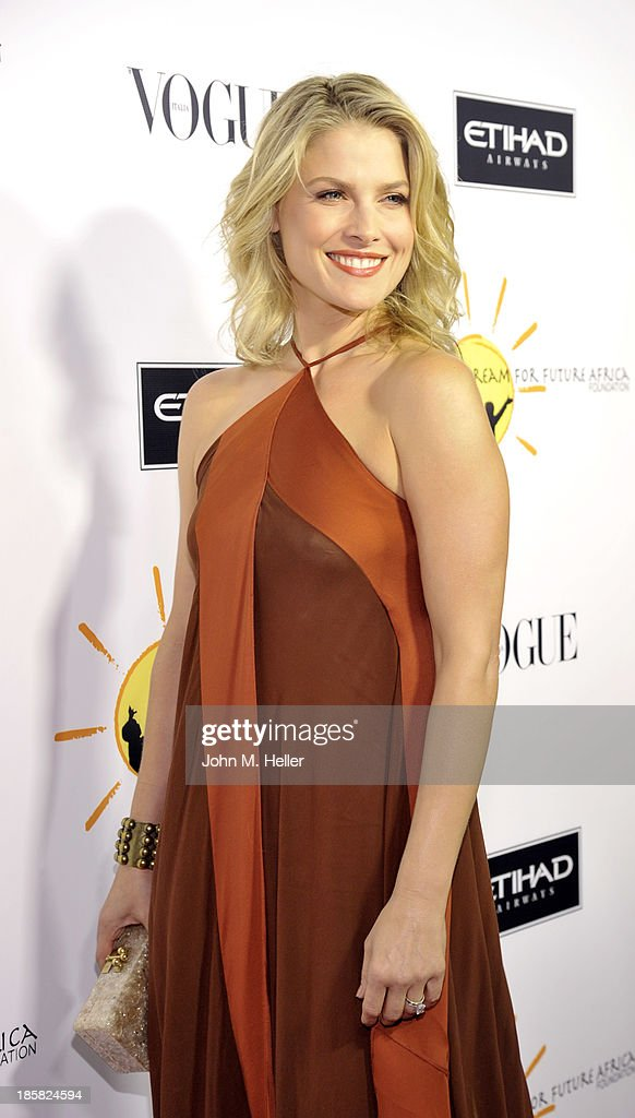 Actress Ali Larter attends the Dream For Future Africa Foundation's Inaugural Gala Honoring Franca Sozzani Of VOGUE Italia at Spago on October 24, 2013 in Beverly Hills, California.
