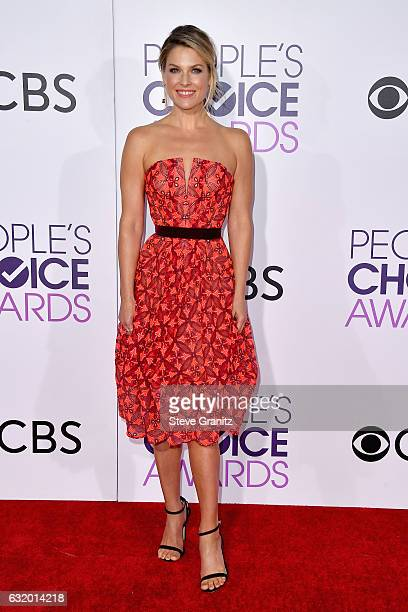 Actress Ali Larter attends the People's Choice Awards 2017 at Microsoft Theater on January 18 2017 in Los Angeles California