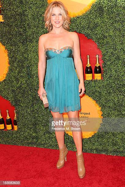 Actress Ali Larter attends the Third Annual Veuve Clicquot Polo Classic Los Angeles at Will Rogers State Historic Park on October 6 2012 in Pacific...