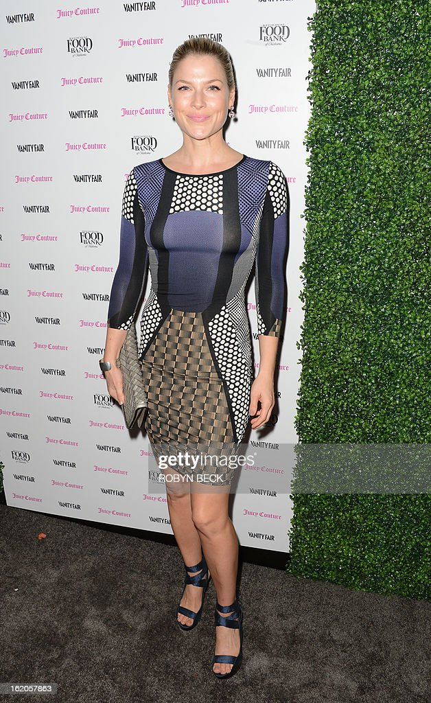 Actress Ali Larter attends the Vanity Fair And Juicy Couture Celebration Of The 2013 Vanities Calendar party at Chateau Marmont February 18, 2013 in West Hollywood, California. AFP PHOTO Robyn BECK