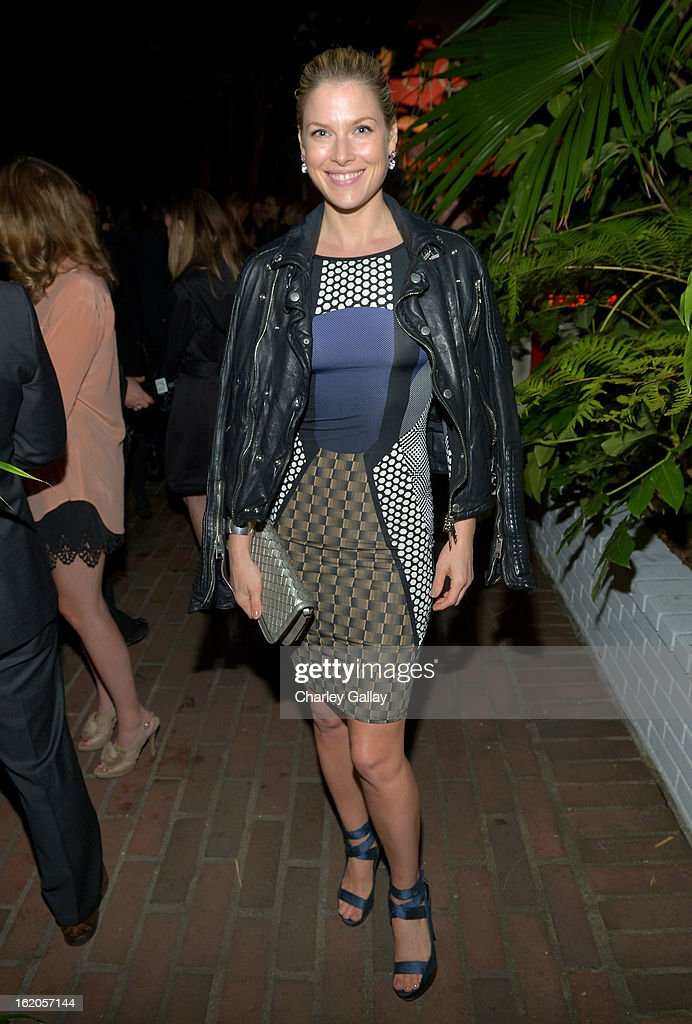 "Actress Ali Larter attends Vanity Fair and Juicy Couture's Celebration of the 2013 ""Vanities"" Calendar hosted by Vanity Fair West Coast Editor Krista Smith and actress Olivia Munn in support of the Regional Food Bank of Oklahoma, a member of Feeding America, at the Chateau Marmont on February 18, 2013 in Los Angeles, California."