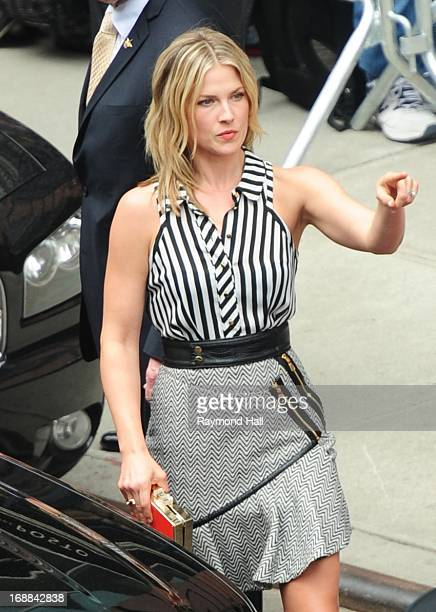 Actress Ali Larter is seen outside 'Del Posto' on May 15 2013 in New York City