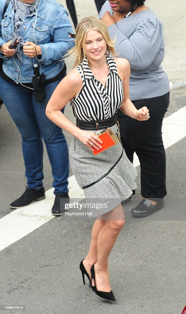 Actress Ali Larter is seen outside 'Del Posto' on May 15, 2013 in New York City.