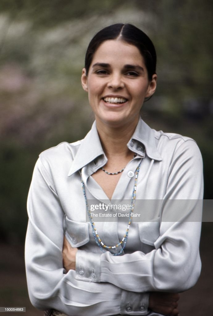 Actress Ali McGraw poses for a portrait on March 27, 1969 in New York ...