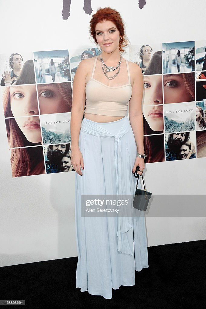 Actress Ali Milner arrives at the Los Angeles Premiere of 'If I Stay' at TCL Chinese Theatre on August 20, 2014 in Hollywood, California.