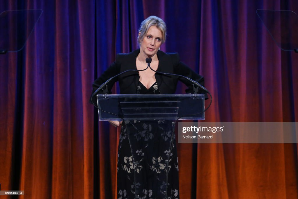 Actress Ali Wentworth speaks on stage during The Humane Society of the United States' To the Rescue! New York Gala at Cipriani 42nd Street on December 18, 2012 in New York City.