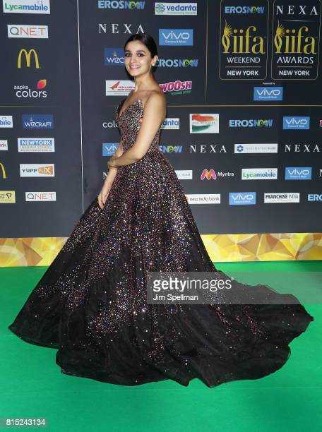 Actress Alia Bhatt attends the 2017 International Indian Film Academy Festival at MetLife Stadium on July 14 2017 in East Rutherford New Jersey