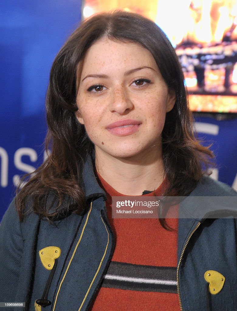 Actress Alia Shawka attends Day 1 of Samsung Galaxy Lounge at Village At The Lift 2013 on January 18, 2013 in Park City, Utah.