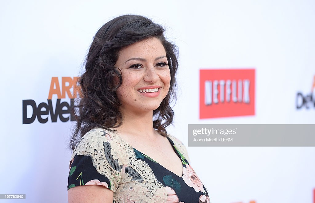 Actress Alia Shawkat arrives at the TCL Chinese Theatre for the premiere of Netflix's 'Arrested Development' Season 4 held on April 29, 2013 in Hollywood, California.