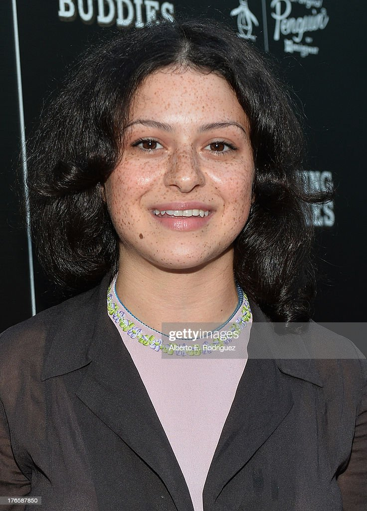 Actress <a gi-track='captionPersonalityLinkClicked' href=/galleries/search?phrase=Alia+Shawkat&family=editorial&specificpeople=206872 ng-click='$event.stopPropagation()'>Alia Shawkat</a> arrives for the screening of Magnolia Pictures' 'Drinking Buddies' at ArcLight Cinemas on August 15, 2013 in Hollywood, California.