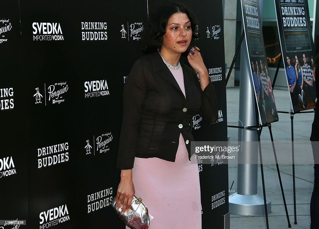 Actress Alia Shawkat attends the screening of Magnolia Pictures' 'Drinking Buddies' at the ArcLight Cinemas on August 15, 2013 in Hollywood, California.